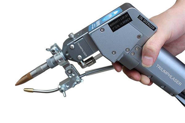 后送丝激光焊接头