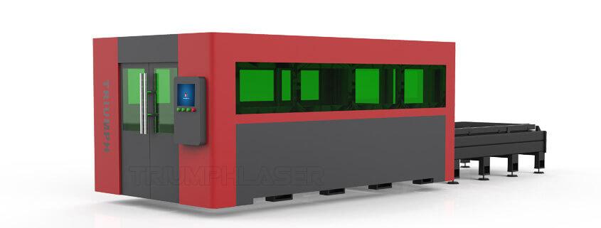 大包围封闭式光纤激光切割机
