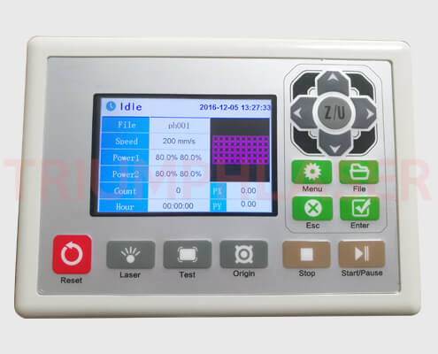 lcd数字控制面板